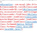 ClassNotFoundException in Java