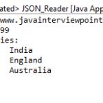 Read a JSON File