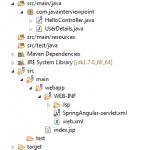 AngularJS Spring MVC