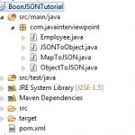 Boon JSON Parser