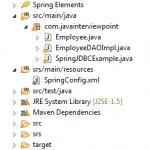 Spring JdbcTemplate Example