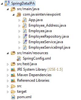 Spring Data JPA CRUD Example using JpaRepository