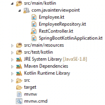 Spring Boot Kotlin RESTful Web Services