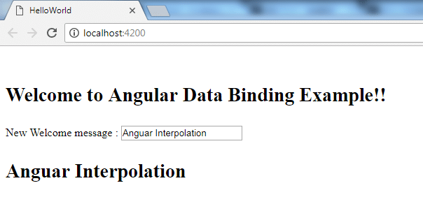Angular Interpolation 1
