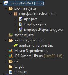 Spring Data REST Example - Spring Boot RESTful API + CRUD