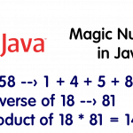 Magic Number in Java