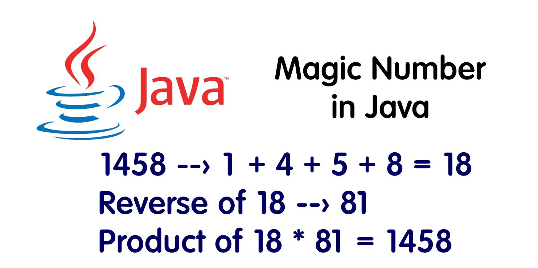 Magic Number in Java